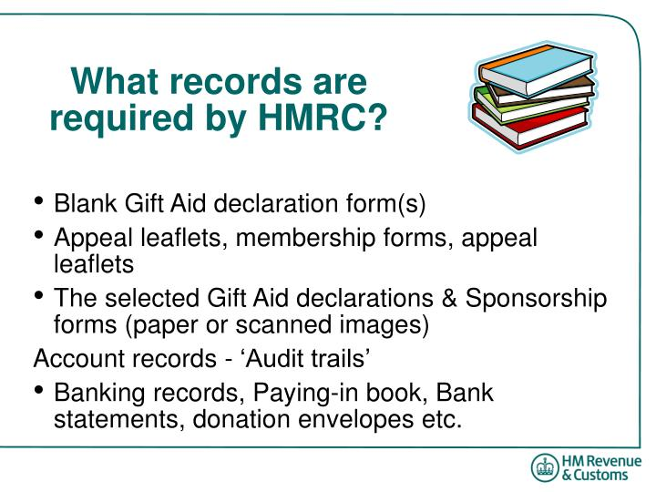 What records are required by HMRC?