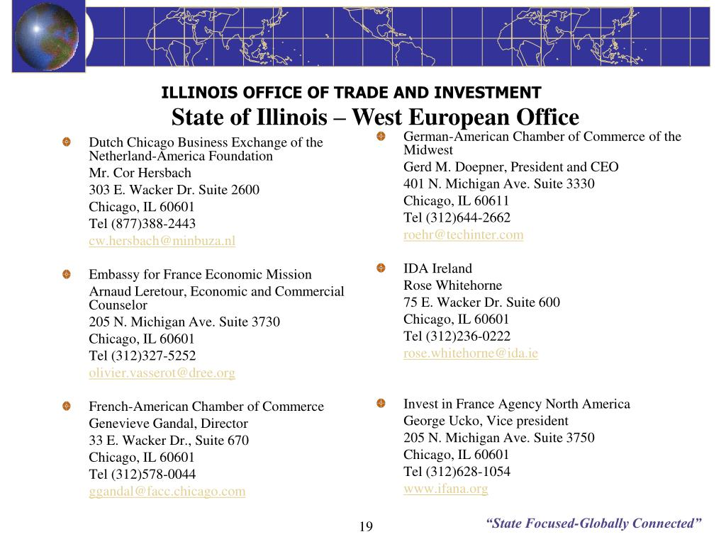 Dutch Chicago Business Exchange of the Netherland-America Foundation