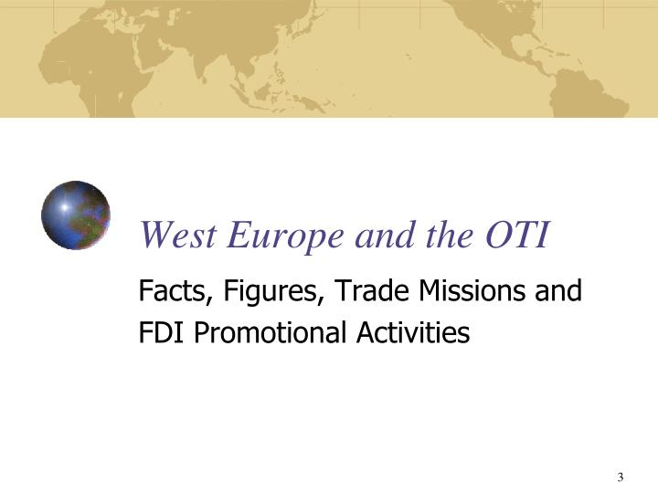 West europe and the oti