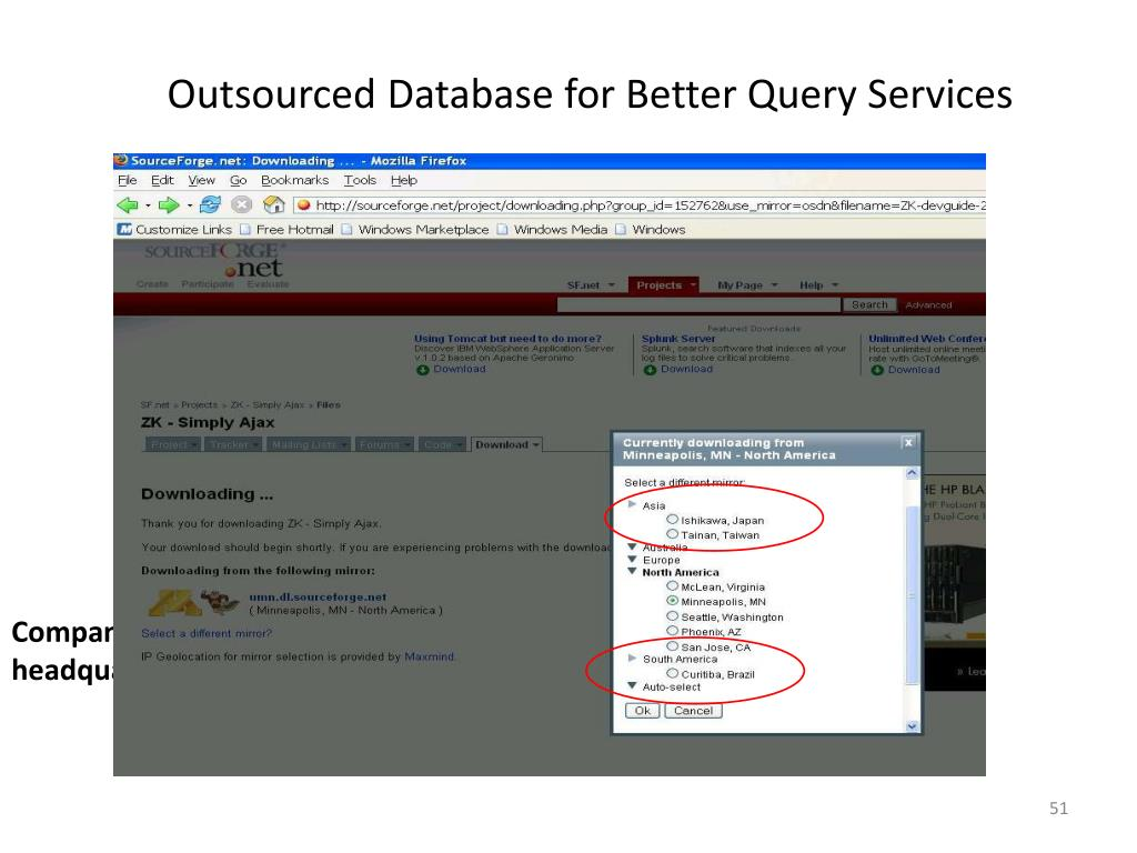 Outsourced Database for Better Query Services