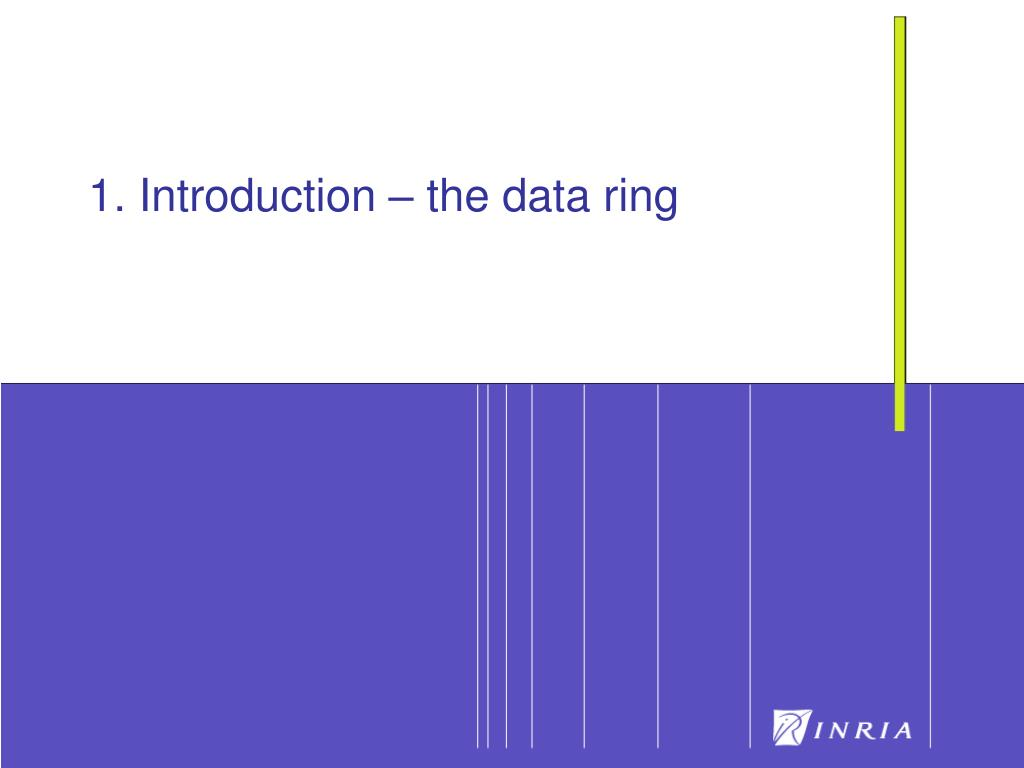 1. Introduction – the data ring