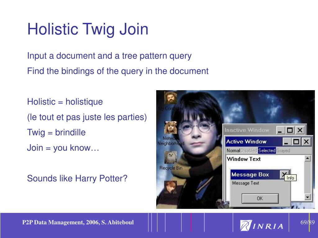 Holistic Twig Join