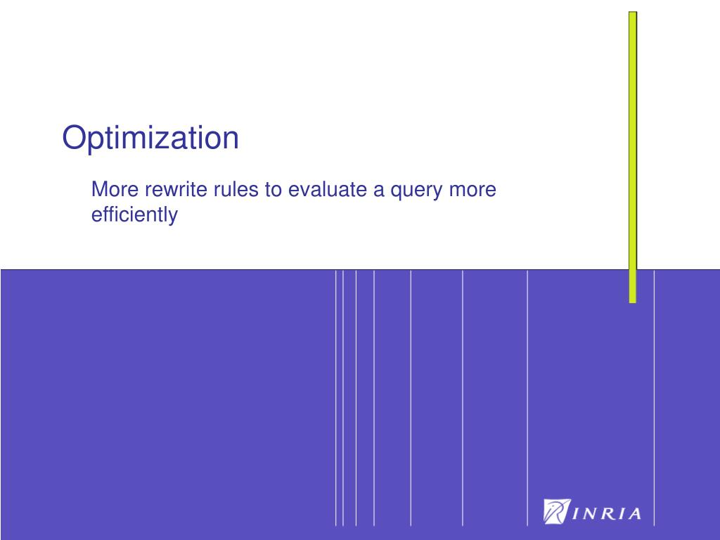 More rewrite rules to evaluate a query more efficiently