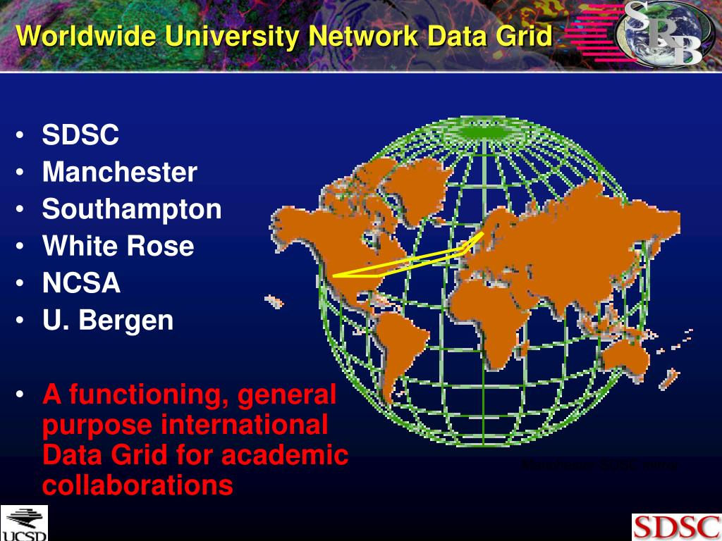 Worldwide University Network Data Grid