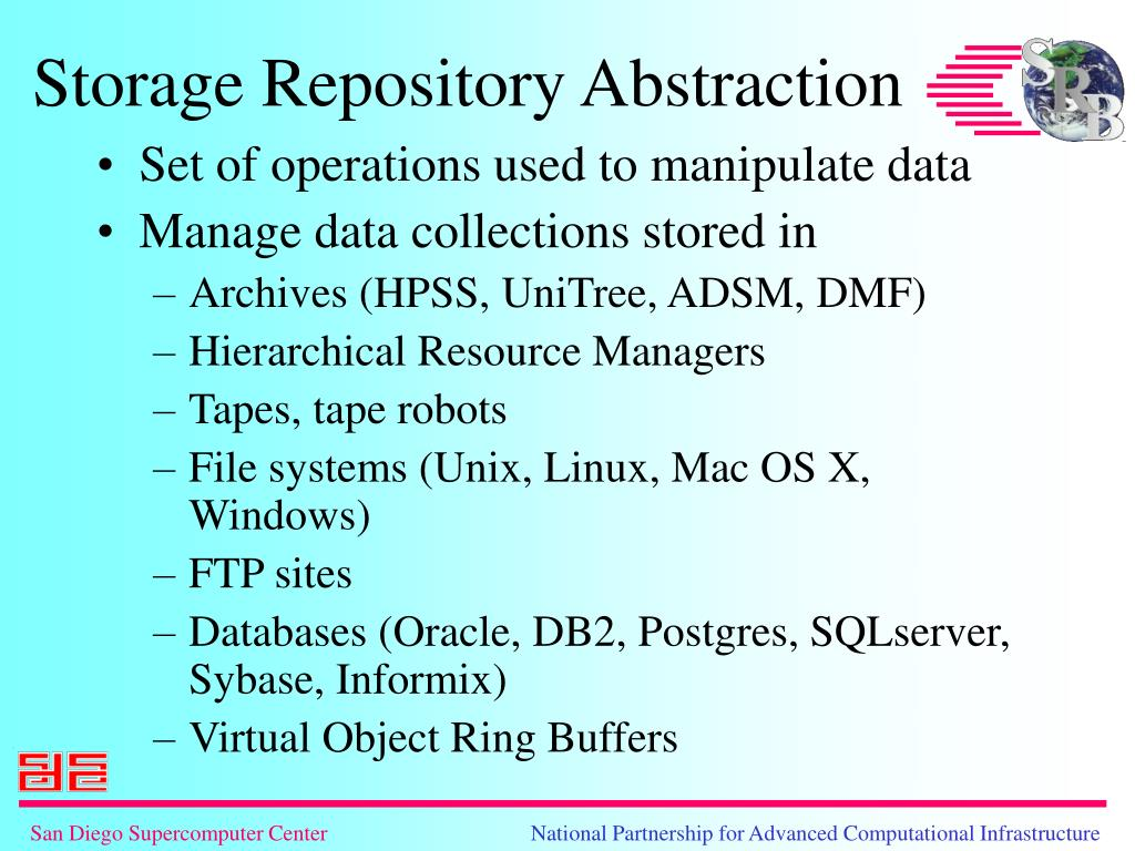 Set of operations used to manipulate data