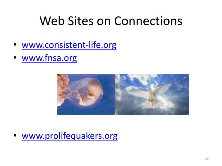 Web Sites on Connections