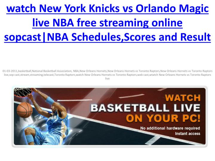 Watch New York Knicks