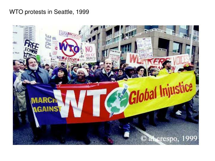 WTO protests in Seattle, 1999