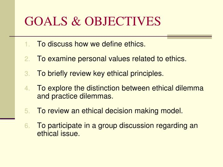 values and ethics in social work practice