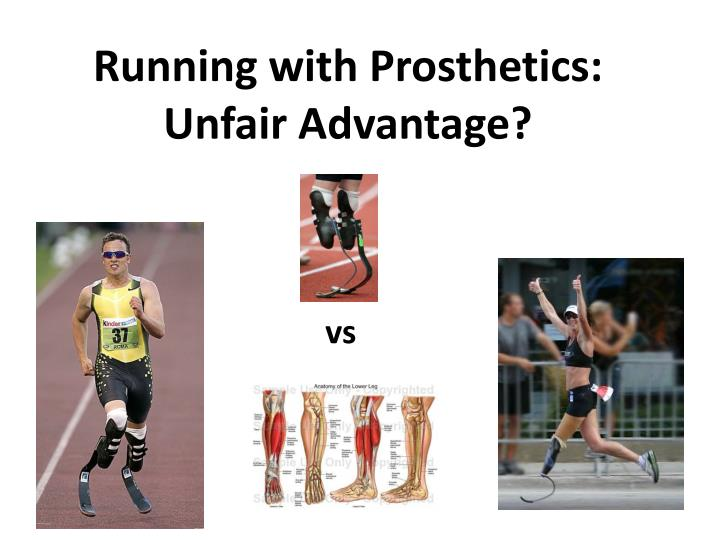 running with prosthetics unfair advantage n.