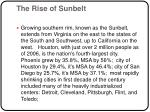 the rise of sunbelt