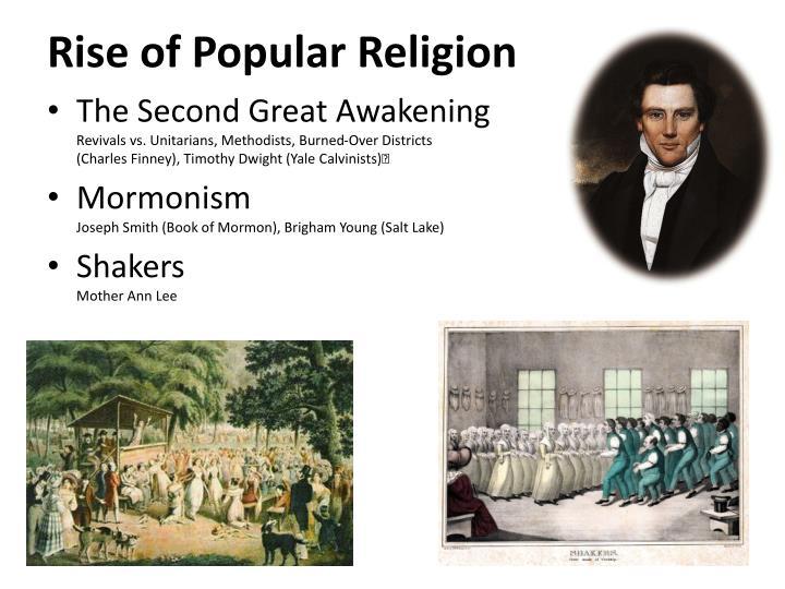 Rise of Popular Religion