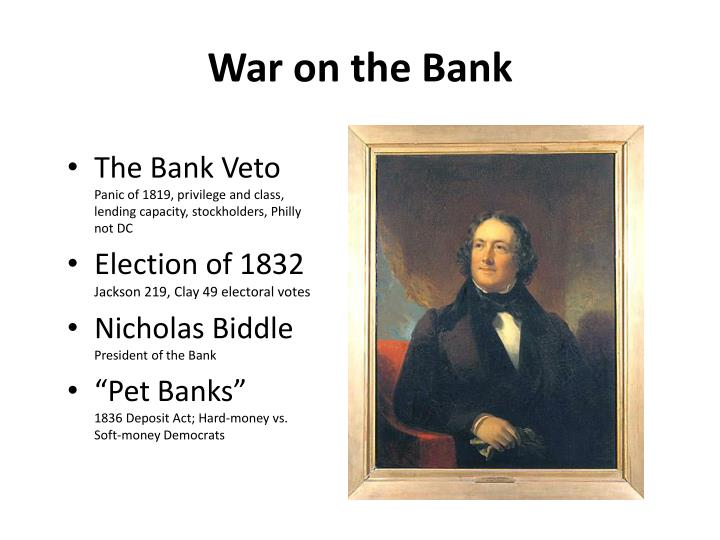 War on the Bank