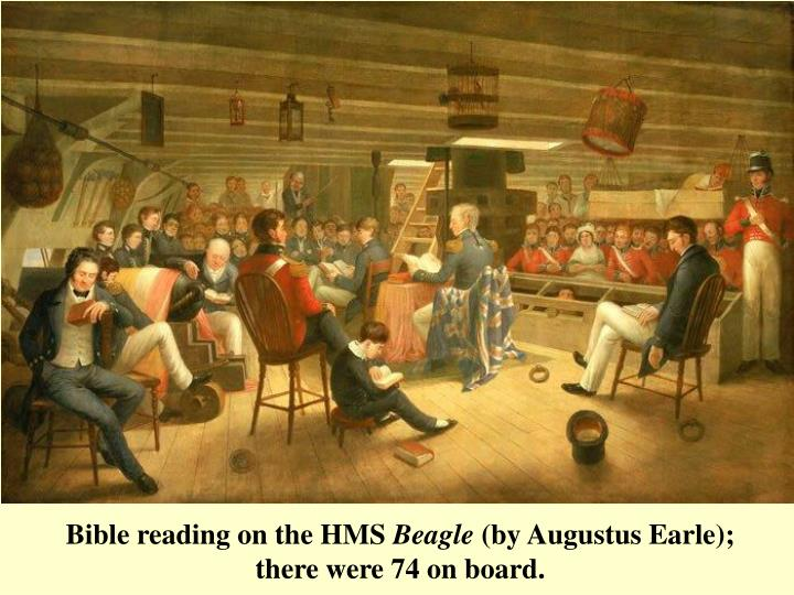 Bible reading on the HMS
