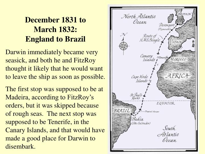 December 1831 to
