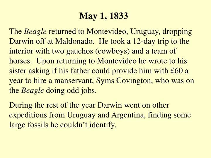 May 1, 1833