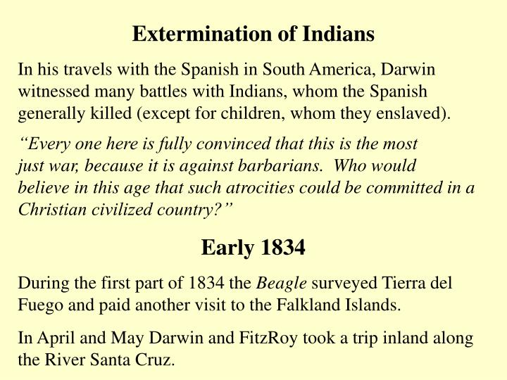 Extermination of Indians
