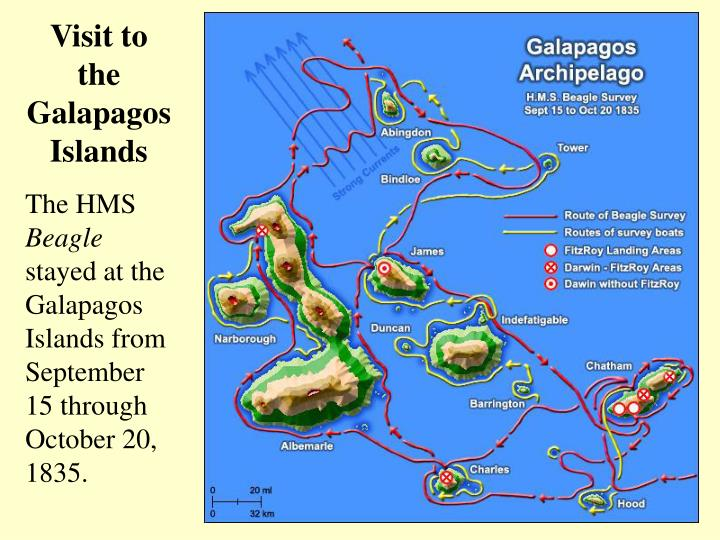 Visit to the Galapagos Islands