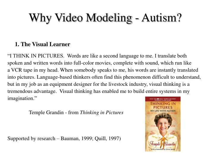 Why Video Modeling - Autism?