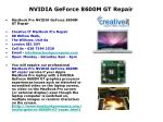 nvidia geforce 8600m gt repair