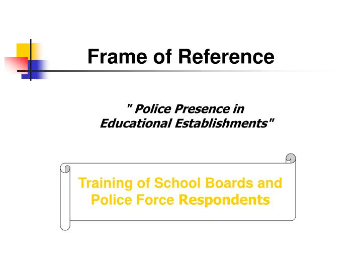 PPT - Frame of Reference PowerPoint Presentation - ID:973198