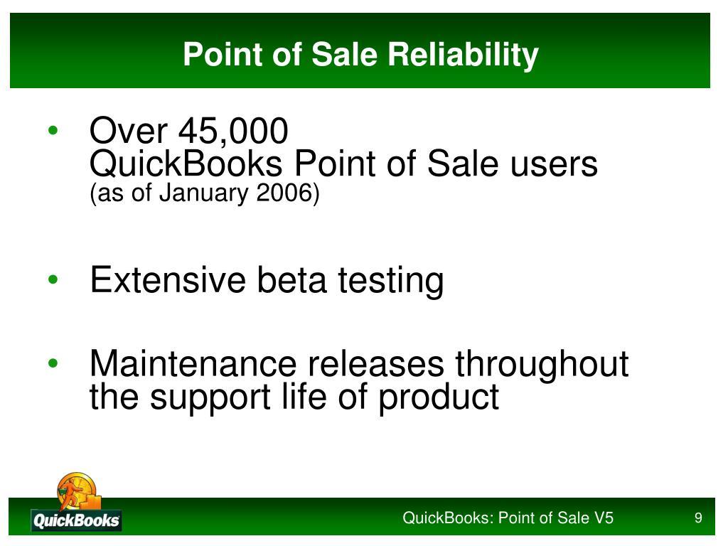 PPT - QuickBooks: Point of Sale 5 0 PowerPoint Presentation