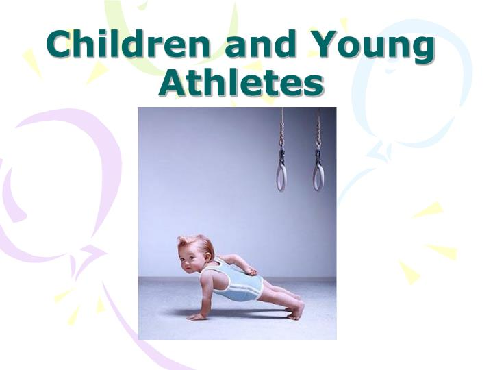 children and young athletes n.