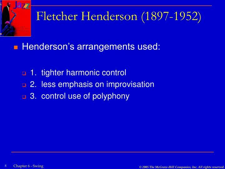 Fletcher Henderson (1897-1952)