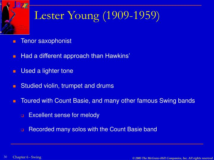 Lester Young (1909-1959)