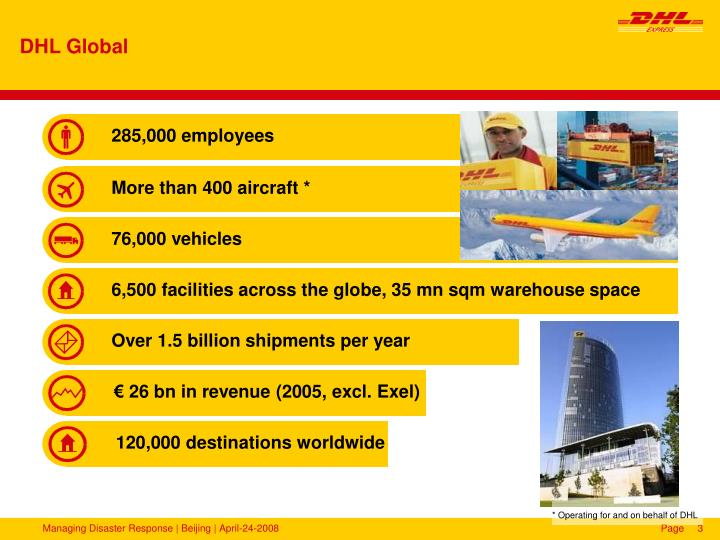 questionnaire dhl It has passed the rigorous measurement through analysis of results of the great place to work ® trust index© survey and culture audit© questionnaire and scored among the best in the country thus receiving global recognition as a best workplace.