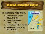 samuel last of the judges2