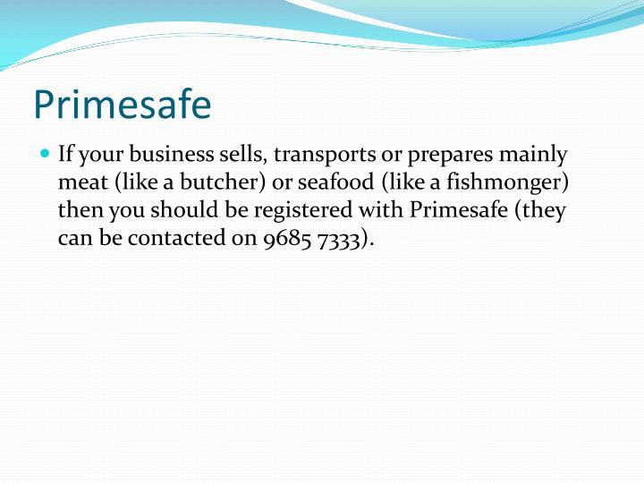Primesafe