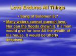 love endures all things3