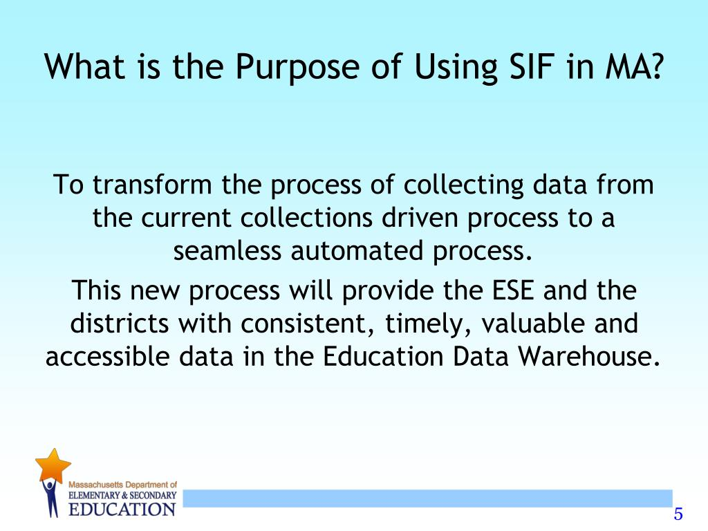 What is the Purpose of Using SIF in MA?