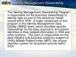 identity management stewardship