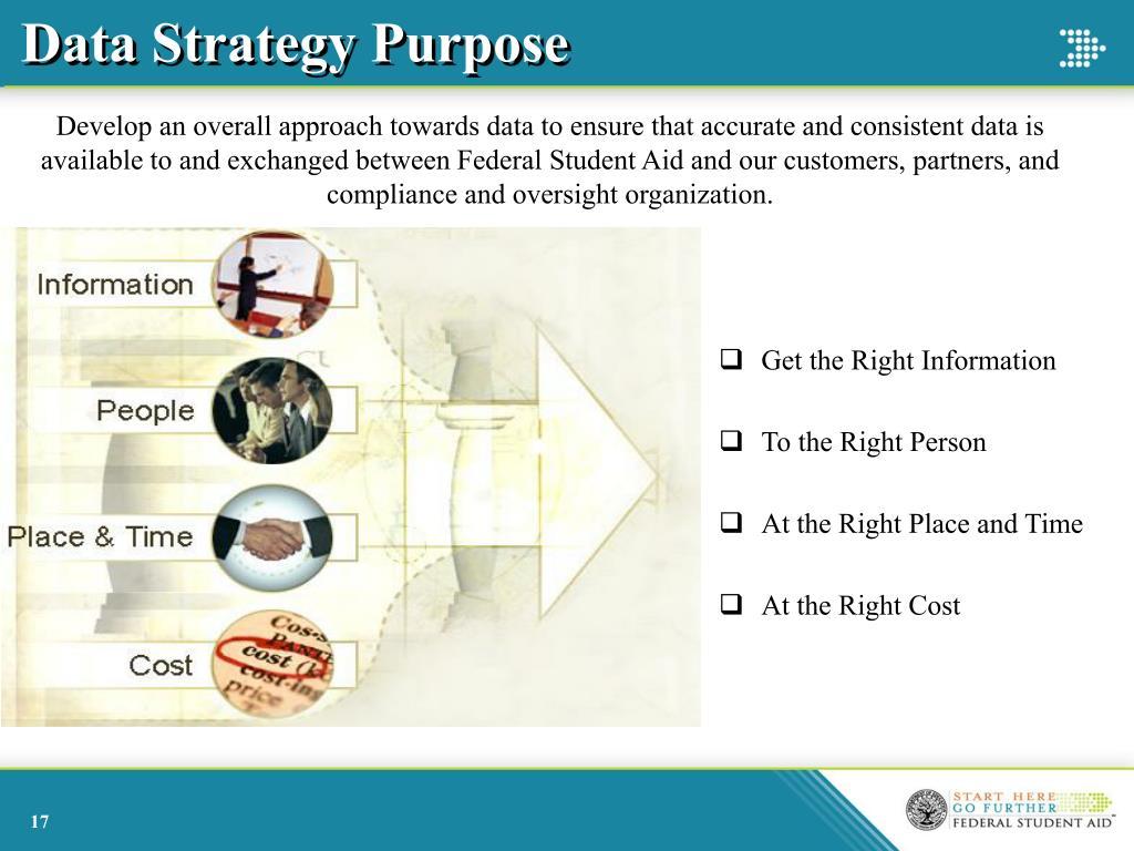Data Strategy Purpose