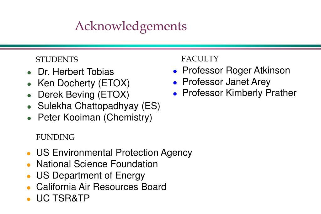 PPT - Aerosol Formation from Biogenic VOCs PowerPoint