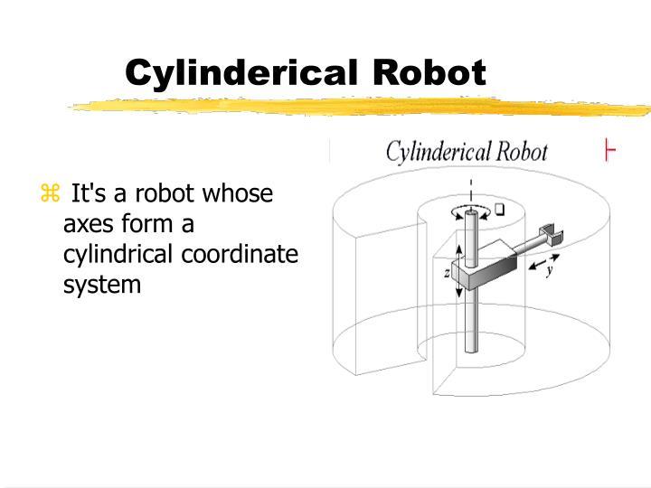 Cylinderical Robot