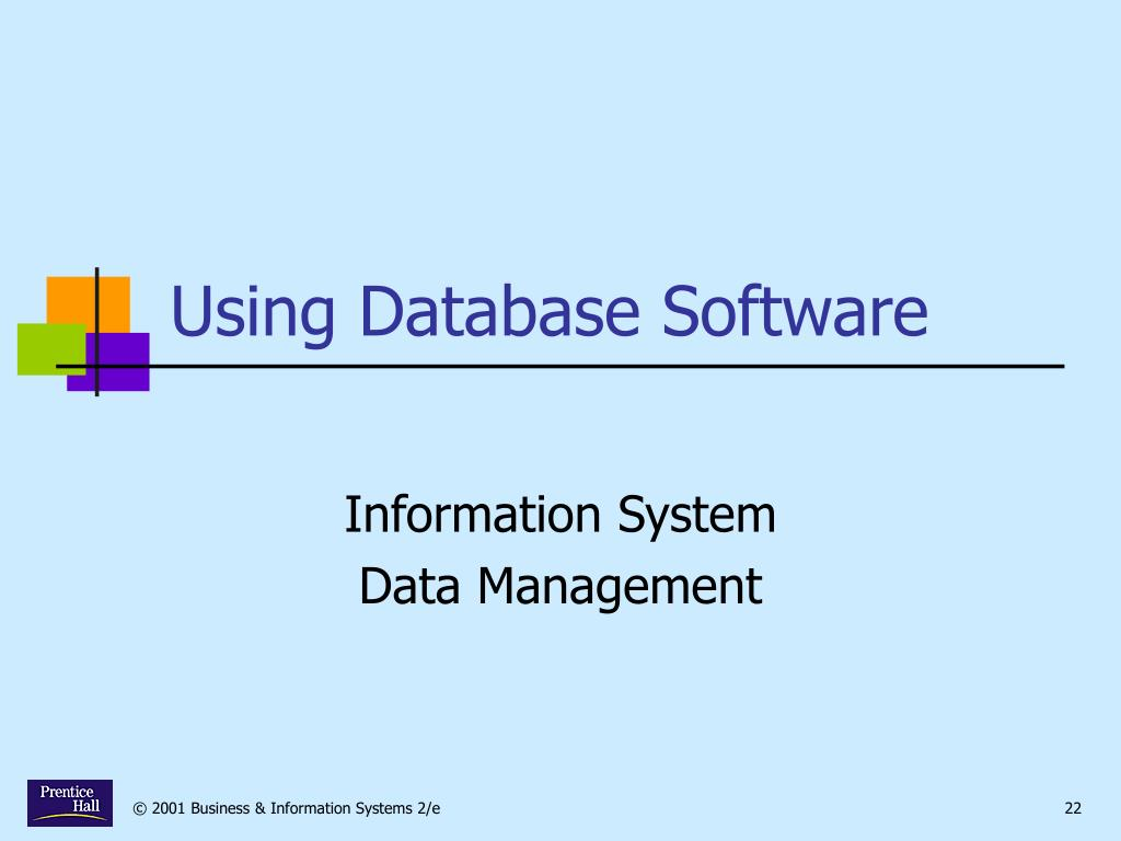Using Database Software