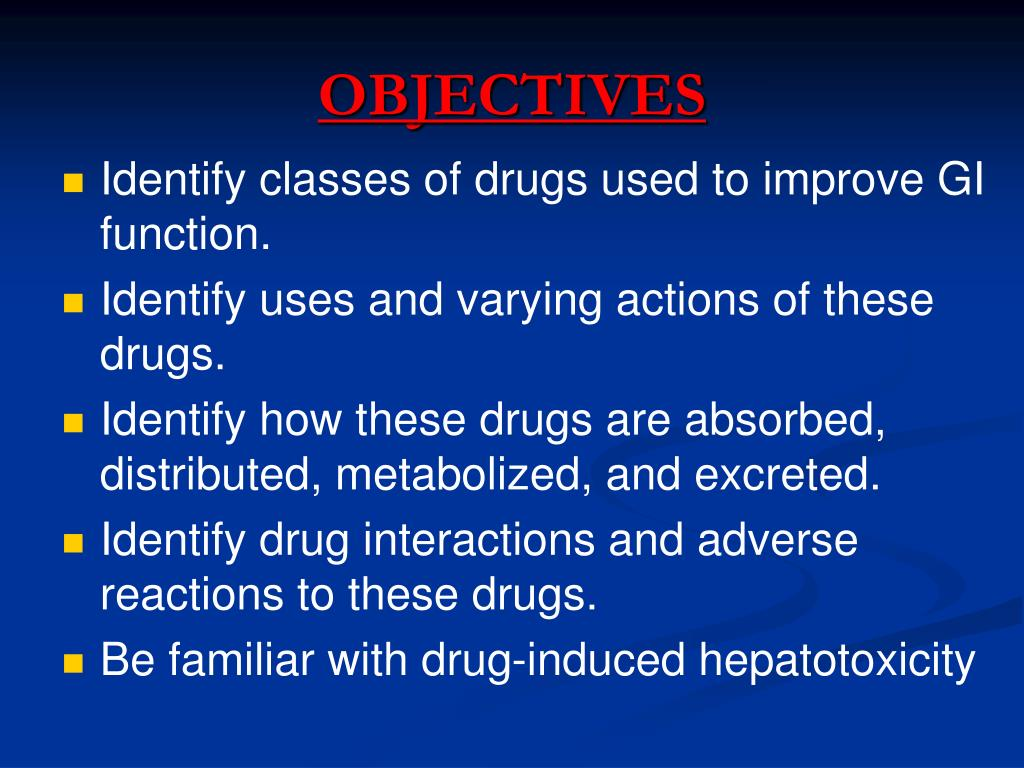 PPT - Drugs Acting On Gastrointestinal Tract PowerPoint