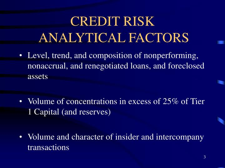 credit risk analysis of cba The credit business fellow (cbf) designation builds on the cba certification from nacm, but adds a knowledge of business/credit law to your professional repertoire application fees for cbf are $275 for nacm members and $425 for non-members.
