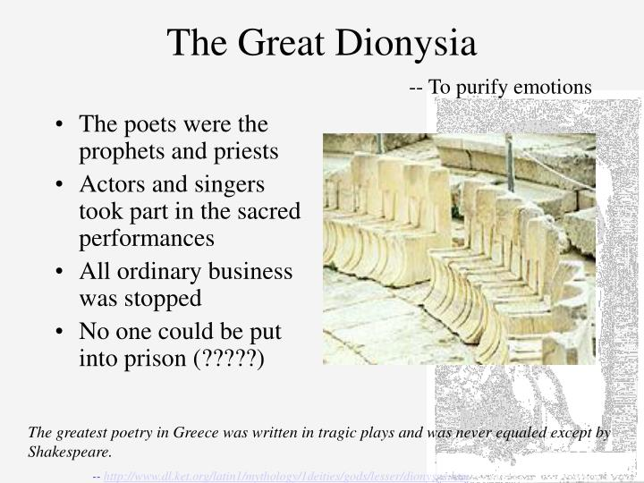 The Great Dionysia
