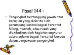 pasal 144