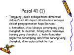 pasal 41 1