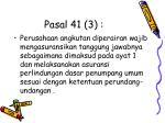 pasal 41 3