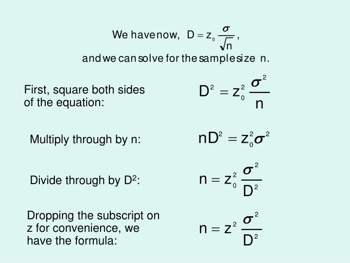 First, square both sides of the equation: