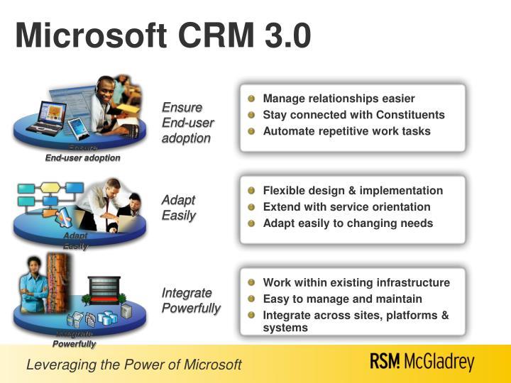 Microsoft crm 3 0