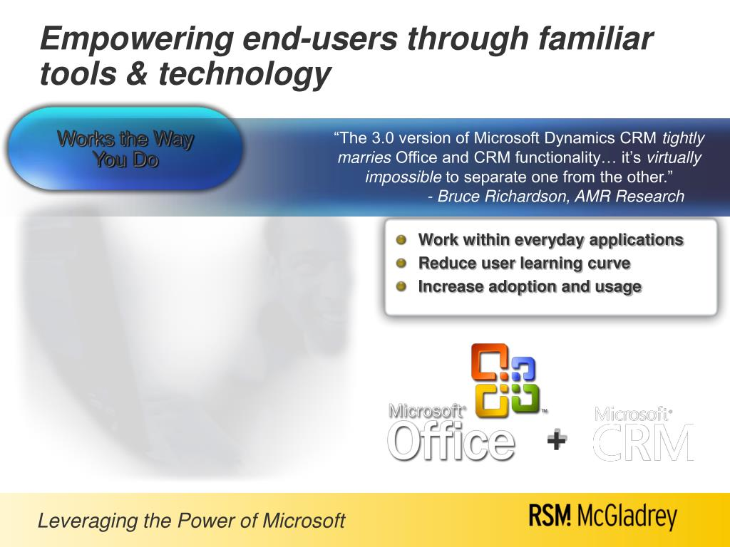 """""""The 3.0 version of Microsoft Dynamics CRM"""