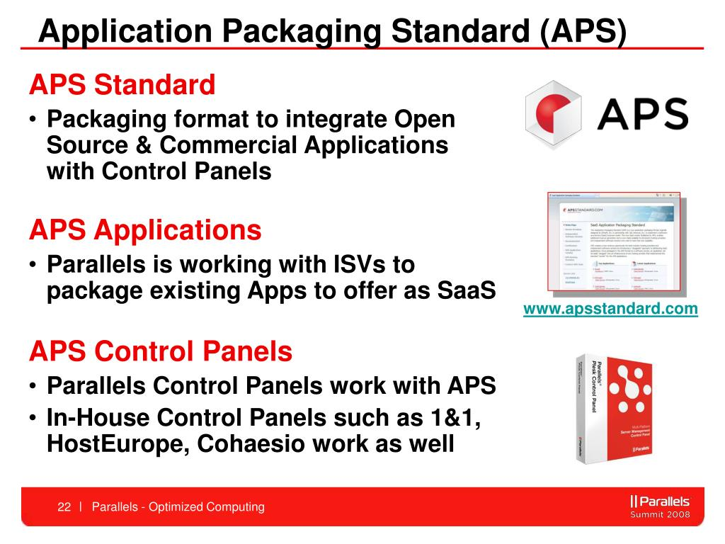 Application Packaging Standard (APS)