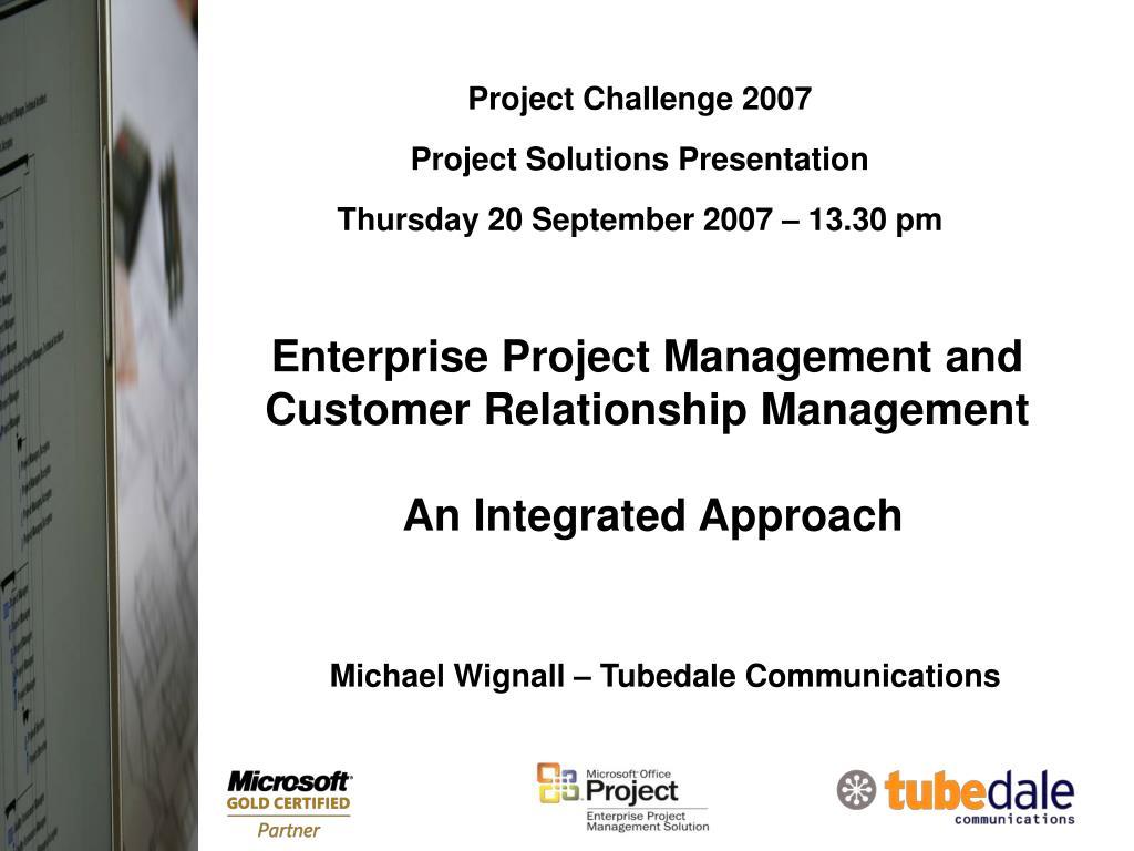 Project Challenge 2007